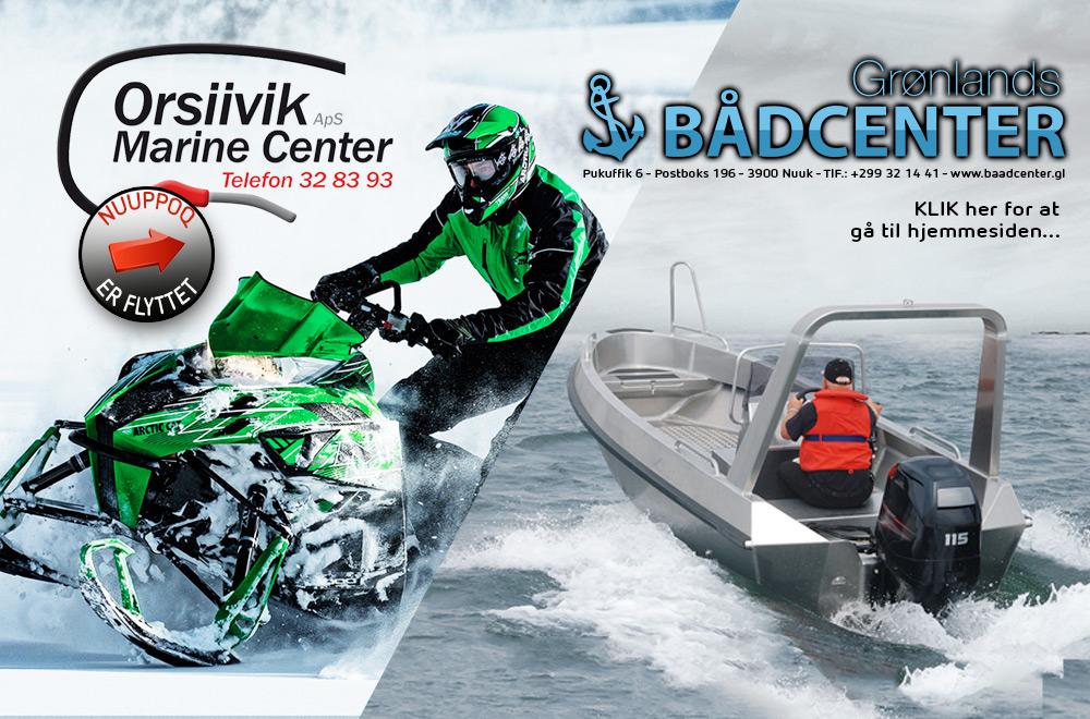 Orsiivik Marine Center er flyttet