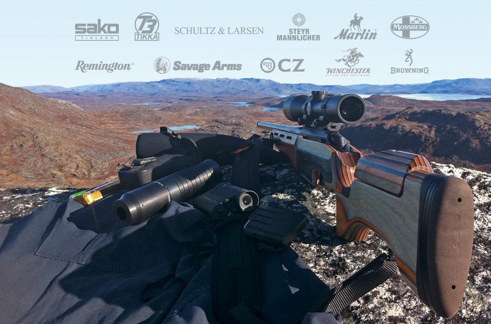 Kæmpe udvalg af rifler
